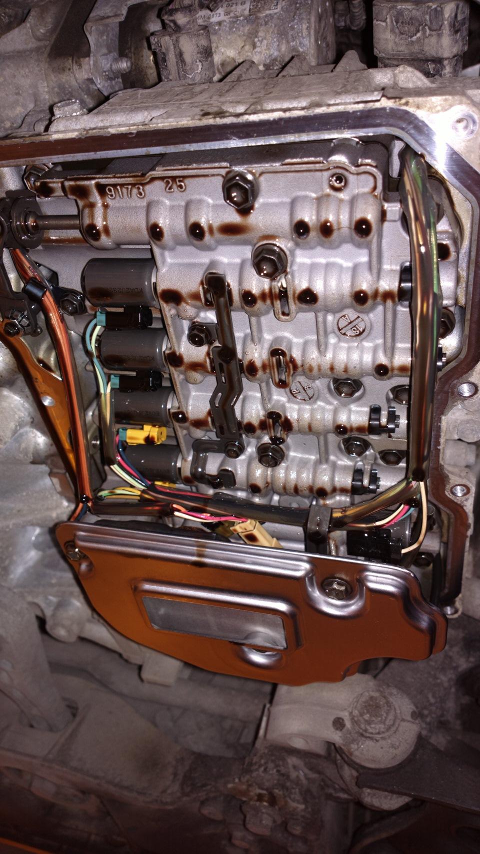 Замена масла в двигателе шкода октавия тур 16