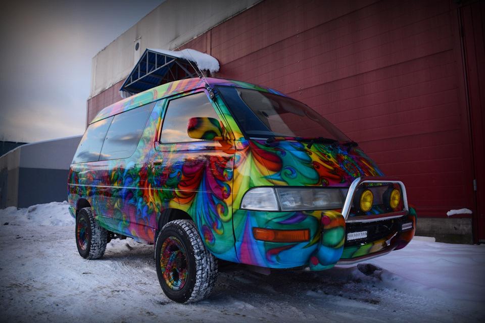 вот минувшим день дизайнерская покраска автомобиля фото преимущество конкурсов мобильной