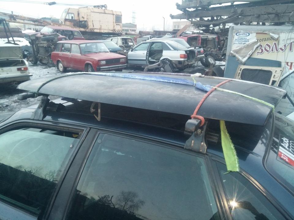 Багажник на крышу ауди 80