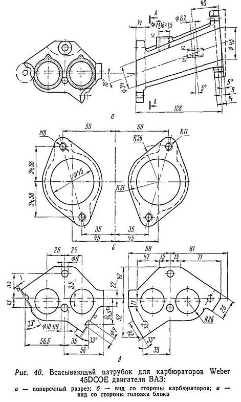 История ч 1 Коллекторы на ВАЗ ПП под Dellorto DHLA 40 — Лада