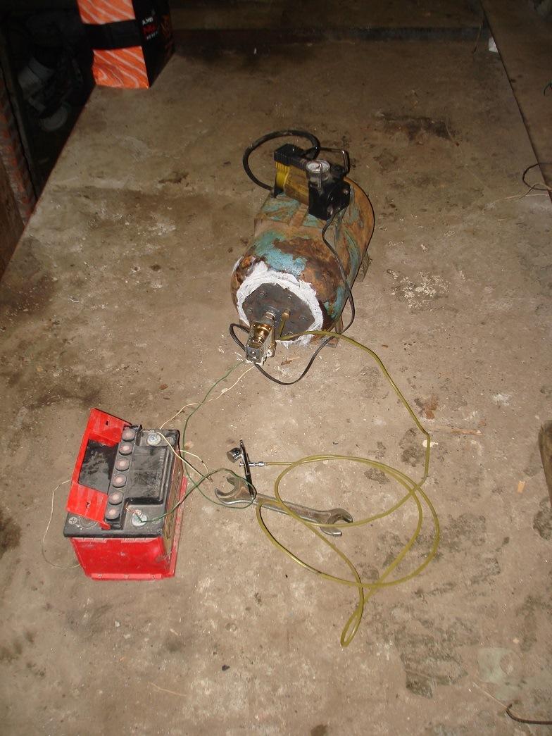 Что можно сделать из автомобильного компрессора