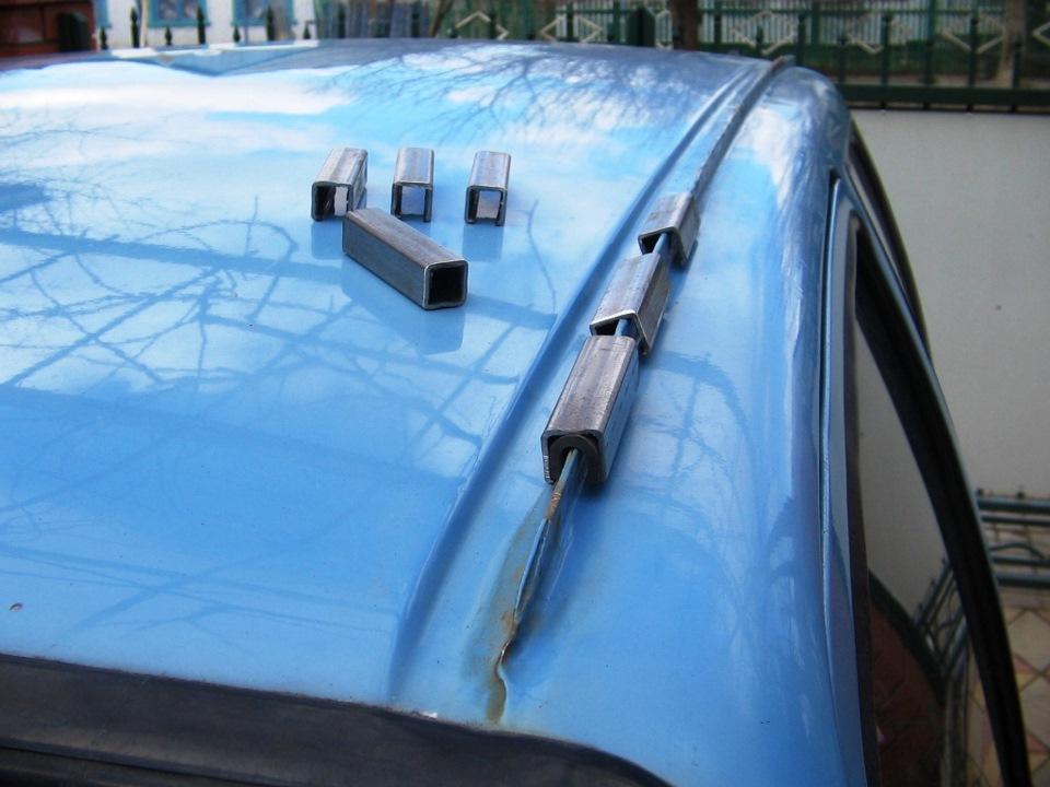 Багажник своими руками на авто