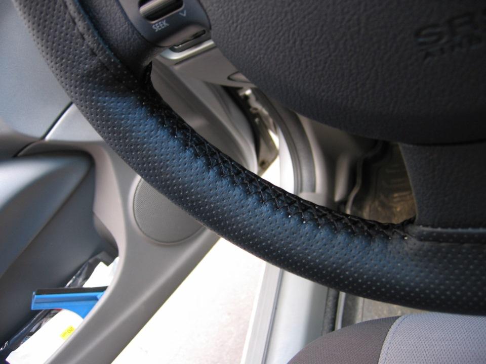 Кожаные оплетки на руль своими руками