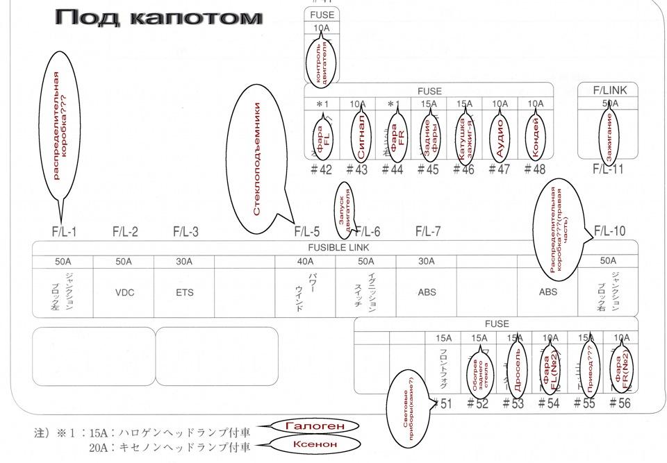 Электросхема марк 2