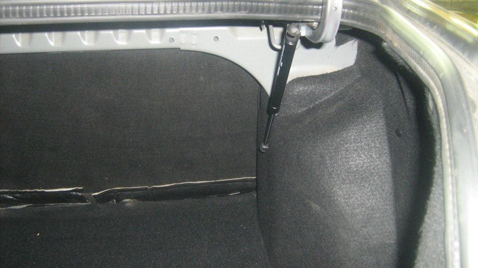 Упор багажника гранта своими руками