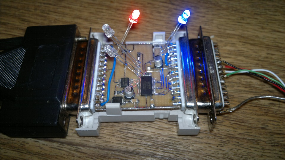 Схема та же FTDI232RL+L9637D.