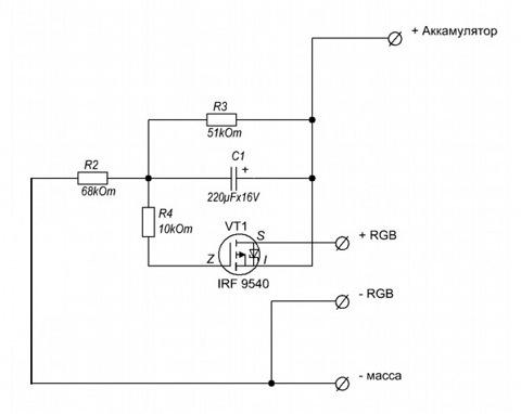 4) Резистор 10 кОм