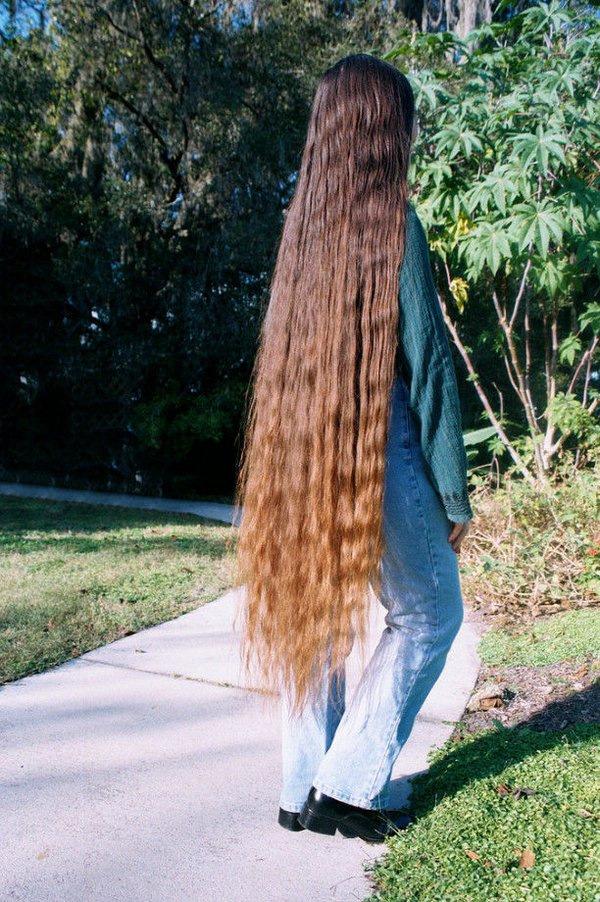 времени является волосы до колен фото точёные формы, столь