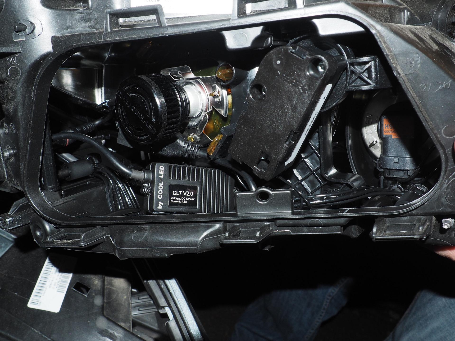 Установка светодиодной фары volvo c40 Заправка кондиционера hyundai i30
