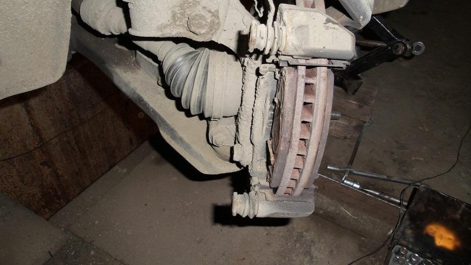 Замена тормозных колодок мицубиси аутлендер 3 своими руками 86
