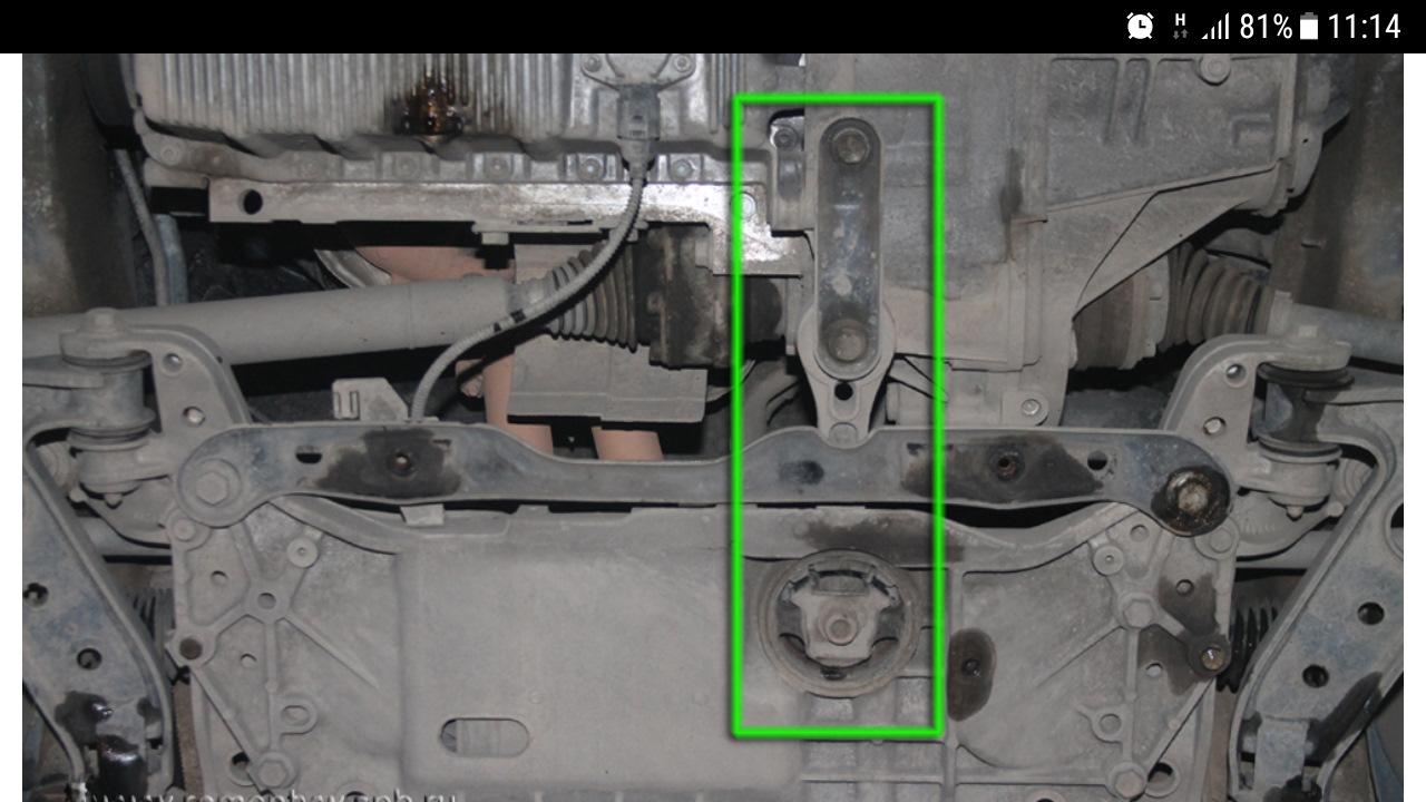 Замена опоры двигателя джетта Замена рычагов подвески cx 5