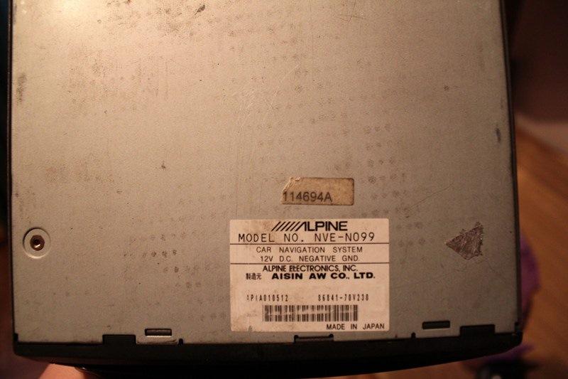 Комплект Alpine - голова, 2 усилка, проц и др. Япония