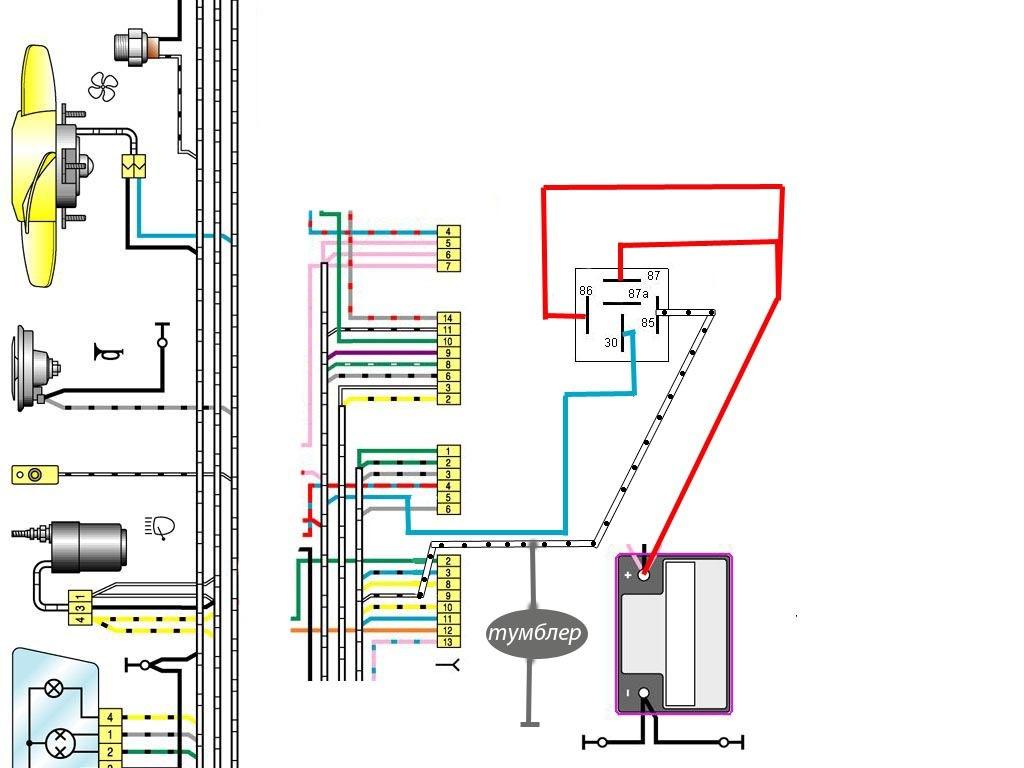 схема водяного охлаждения двигателя фиат добло 1.9