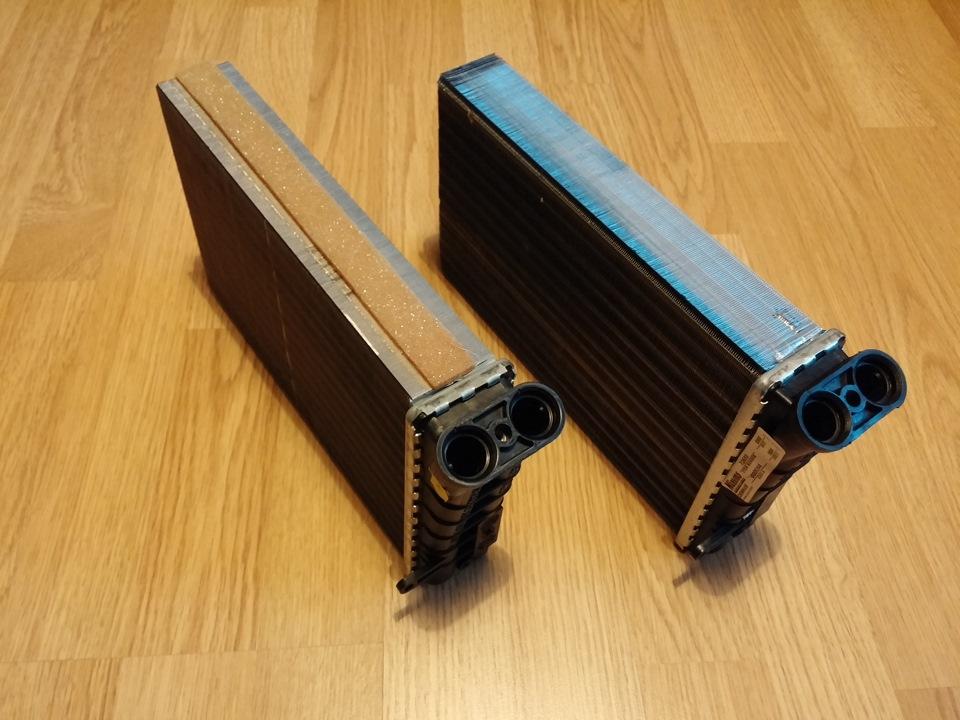 opel omega b радиатор отопителя