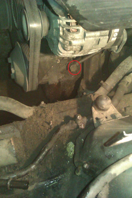 замена шлангов гур на BMW e39