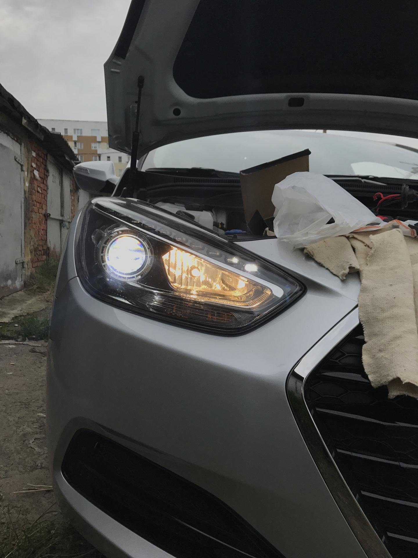 Замена лампы дальнего света hyundai i40 Регулировка троса ручного тормоза форд фокус 2 цена