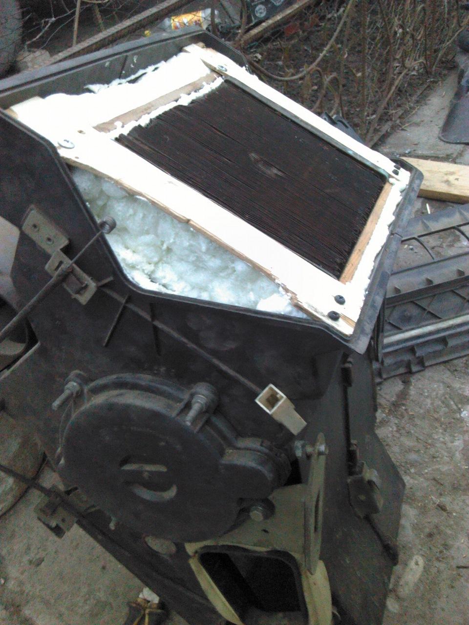 печка газель 3302 устройство схема