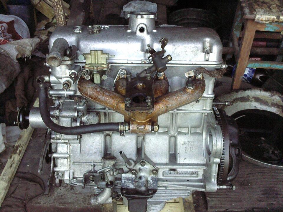 Ремонт двигатель москвич