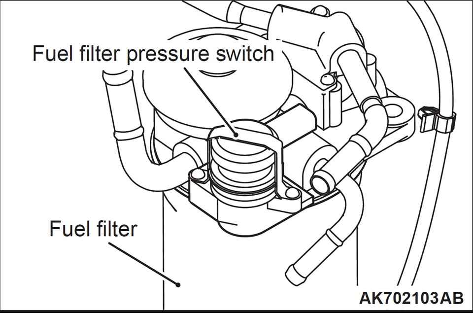 skillful hands   u0026quot i change the fuel filter on diesel 4 u041c41