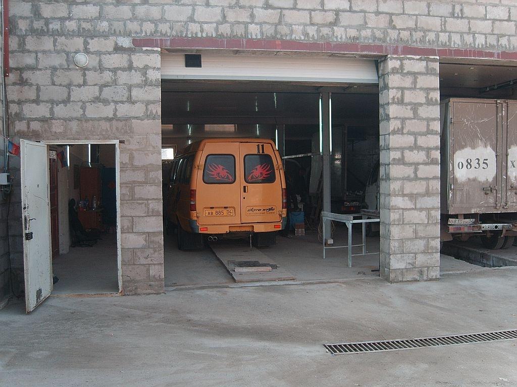 Оборудование для автоматической двери газель
