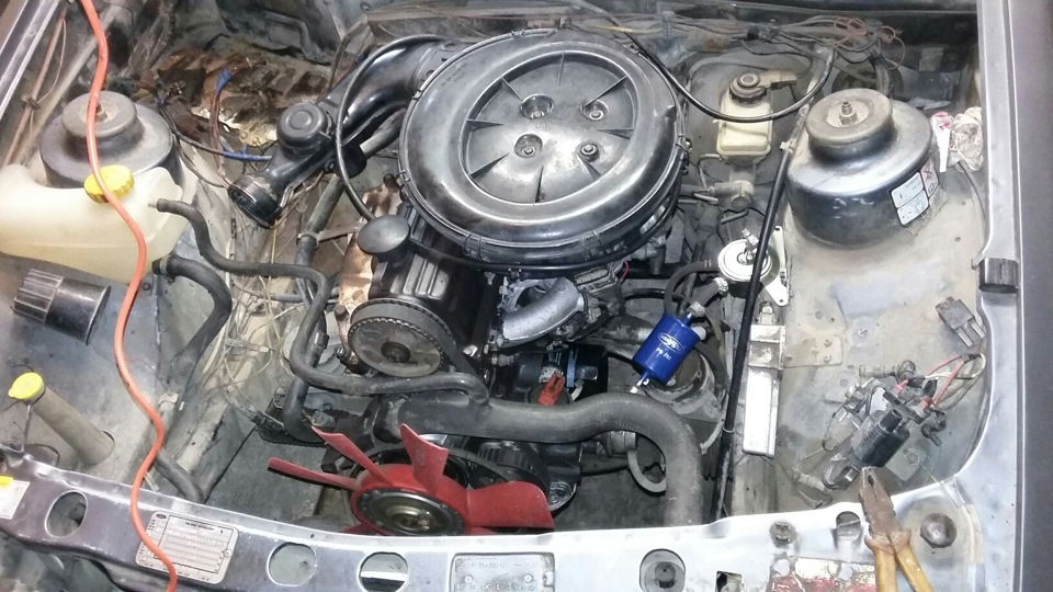 ford sierra топливный пароотделитель