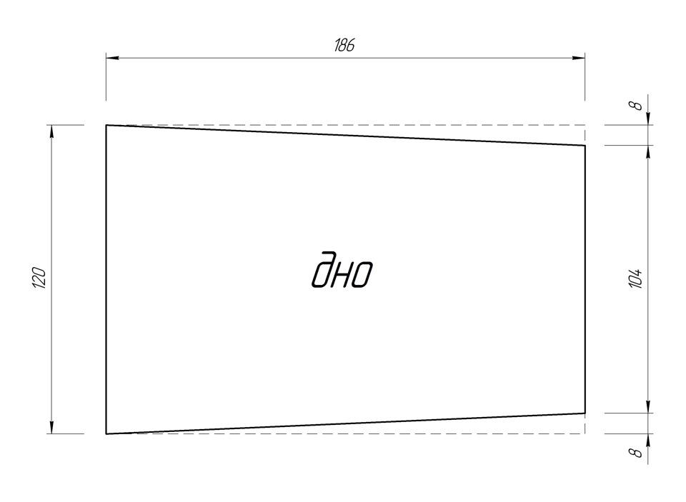 Подлокотник на гранту чертежи описание