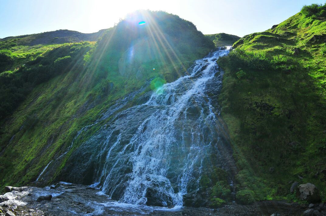 Фотографии вилючинского водопада на камчатке