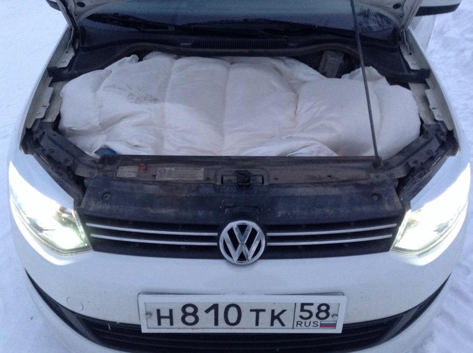 volkswagen polo авто одеяло