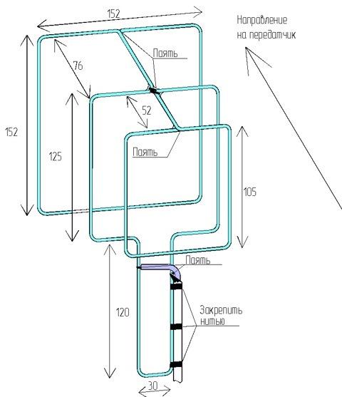 Дмв антенна для цифрового тв dvb t2
