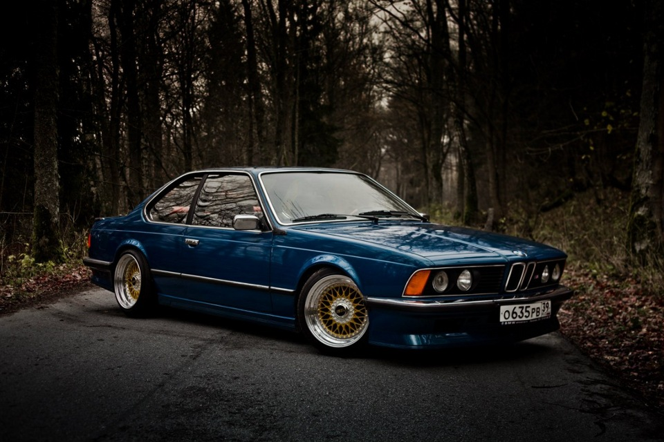 Bmw 635csi From Russia