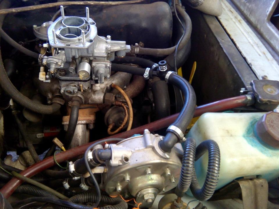 535a87cs 960 - Установка газового оборудования на автомобиль карбюратор