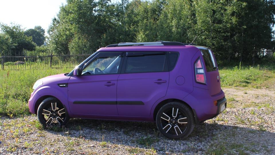 kia soul purple mystique owner review drive2. Black Bedroom Furniture Sets. Home Design Ideas