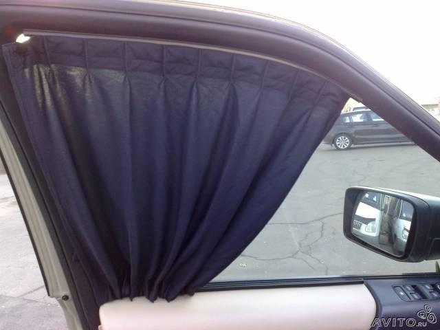 Шторки на автомобильные стекла фото