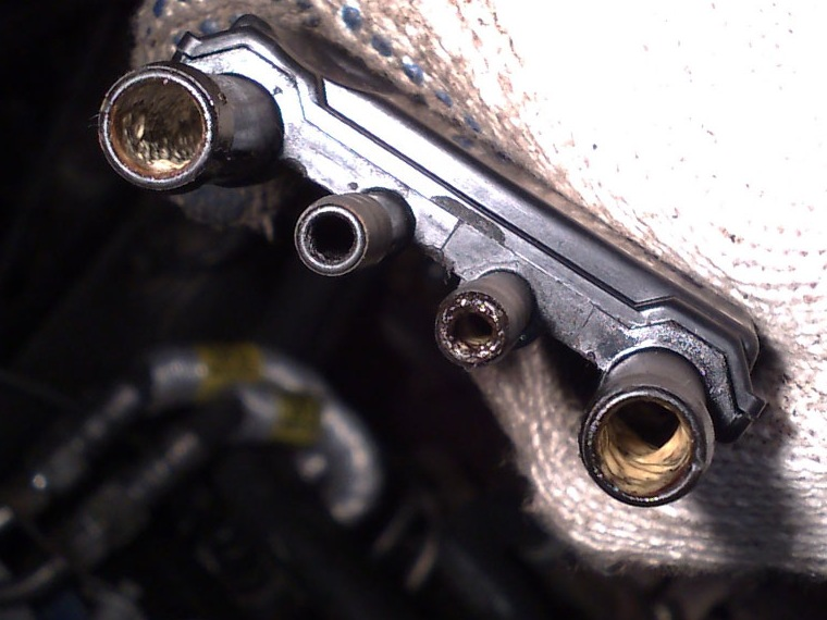 вентиляция картера опель омега б 2.5 v6