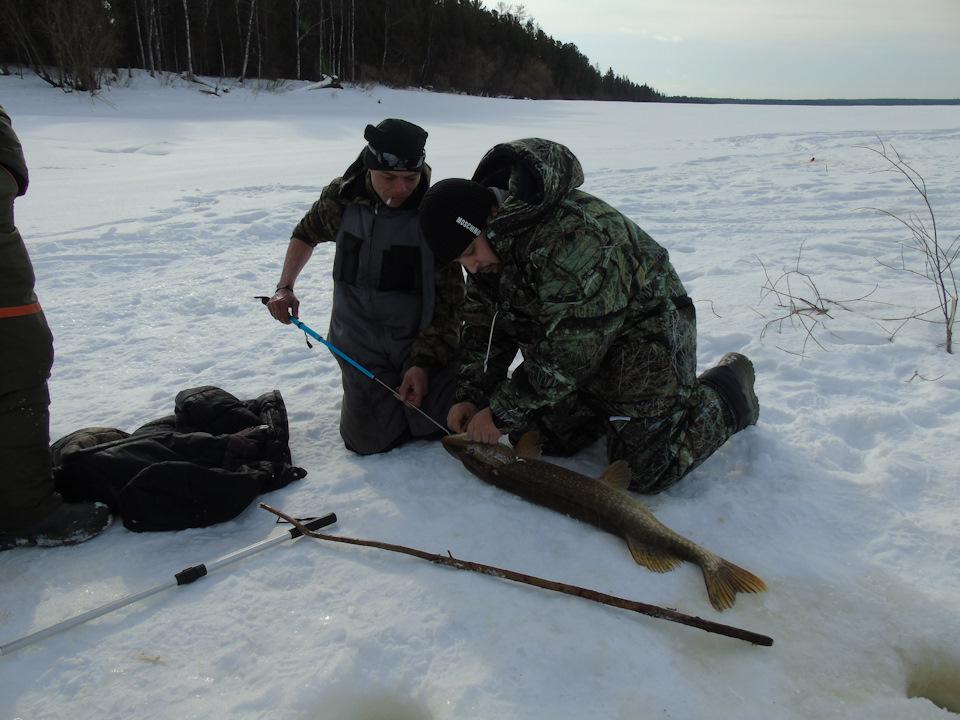 Северная сосьва рыбалка зимой