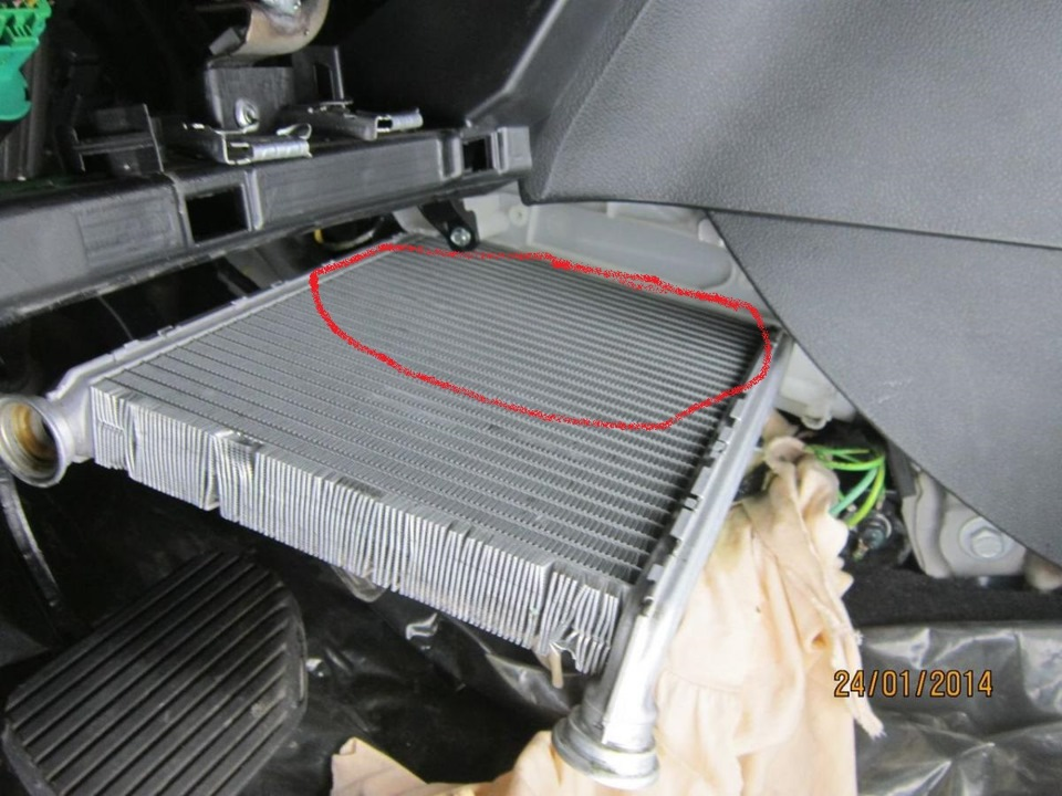 ситроен с4 радиатор печки замена фото