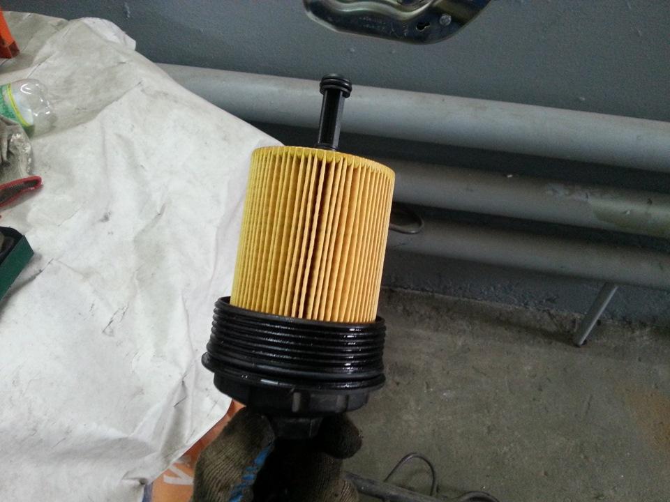замена масляного фильтра на транспортере т5