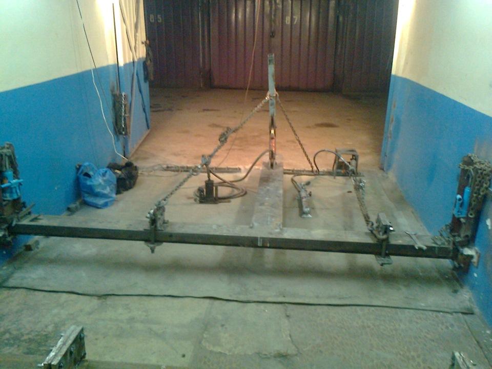 Напольный стапель для кузовного ремонта своими руками 93
