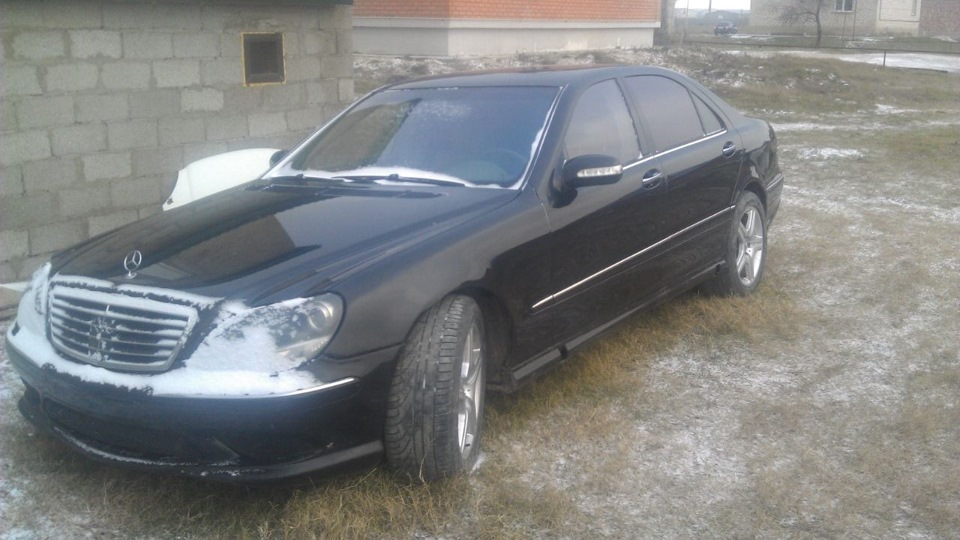 Selling mercedes benz s 55 amg 2004 gasoline automatic for Mercedes benz v8 kompressor