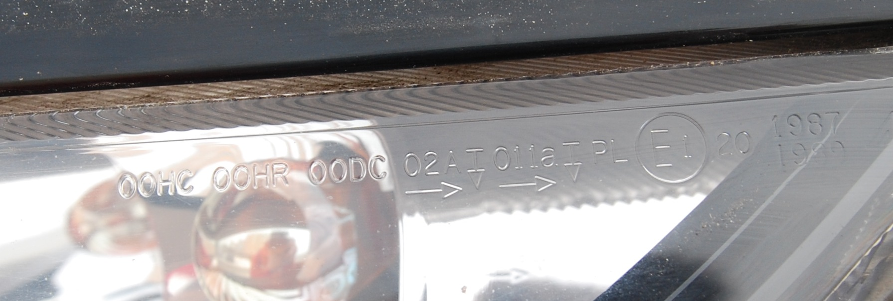 honda civic 4d маркировка фар