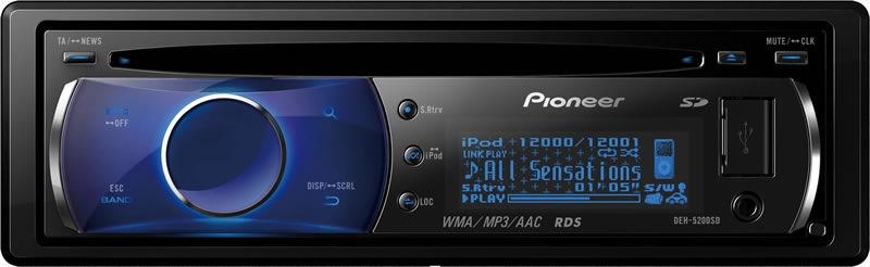 взять Pioneer DEH-5200SD.