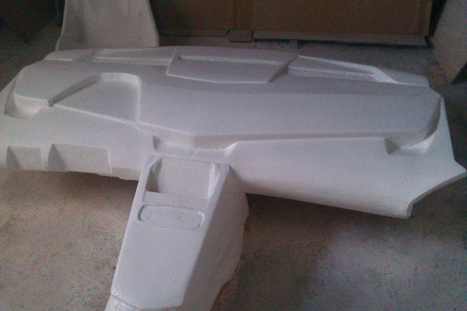 Торпеда из стеклопластика своими руками 94