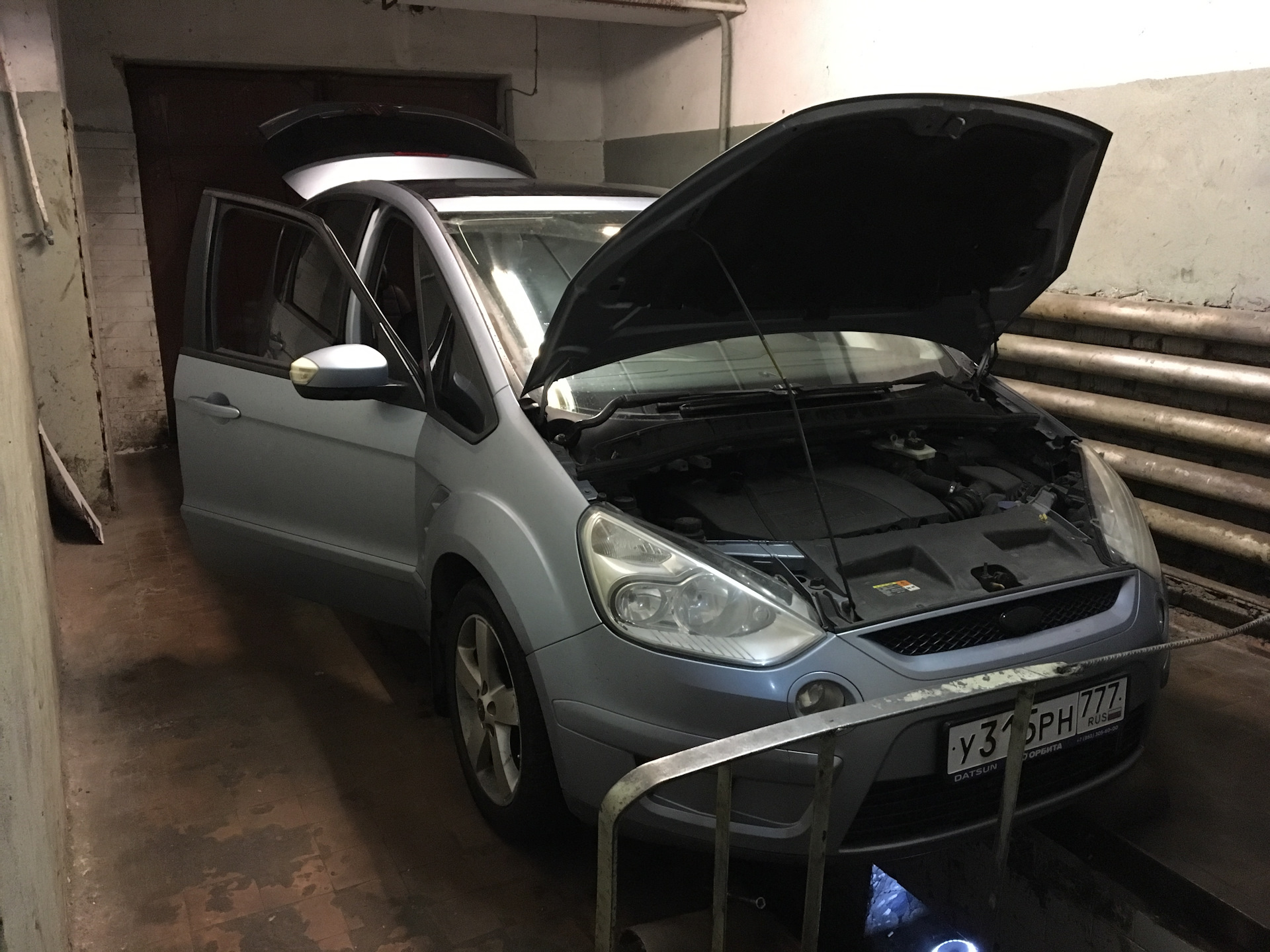 ford s max какое масло