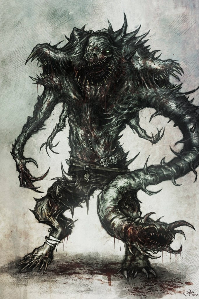 Готические картинки монстров
