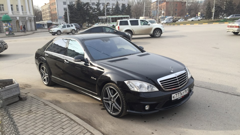 Crazy Russians Turn Old W221 S-Class into a New W222 Model ...