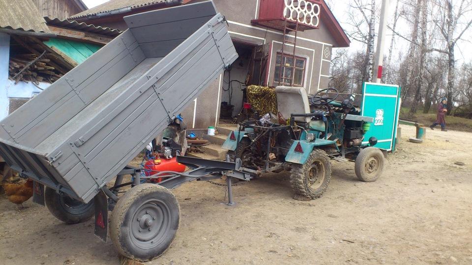 Прицепы своими руками до трактора 827