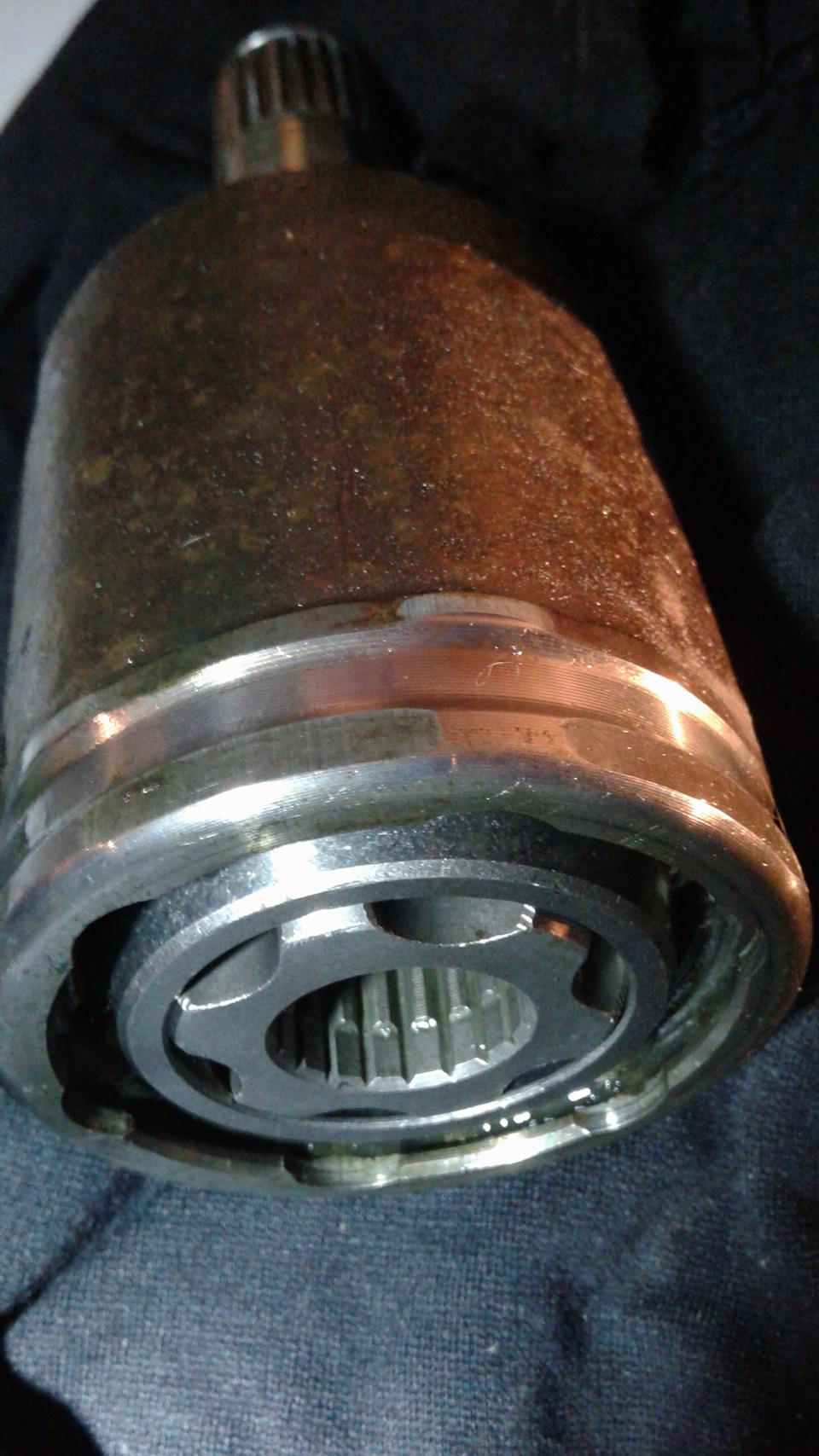 Замена внутреннего шруса ваз 2114