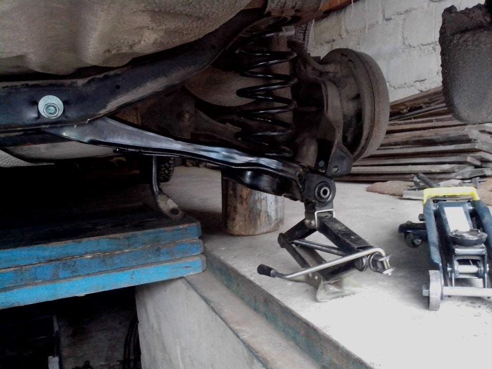 Задняя подвеска форд фокус 2 своими руками