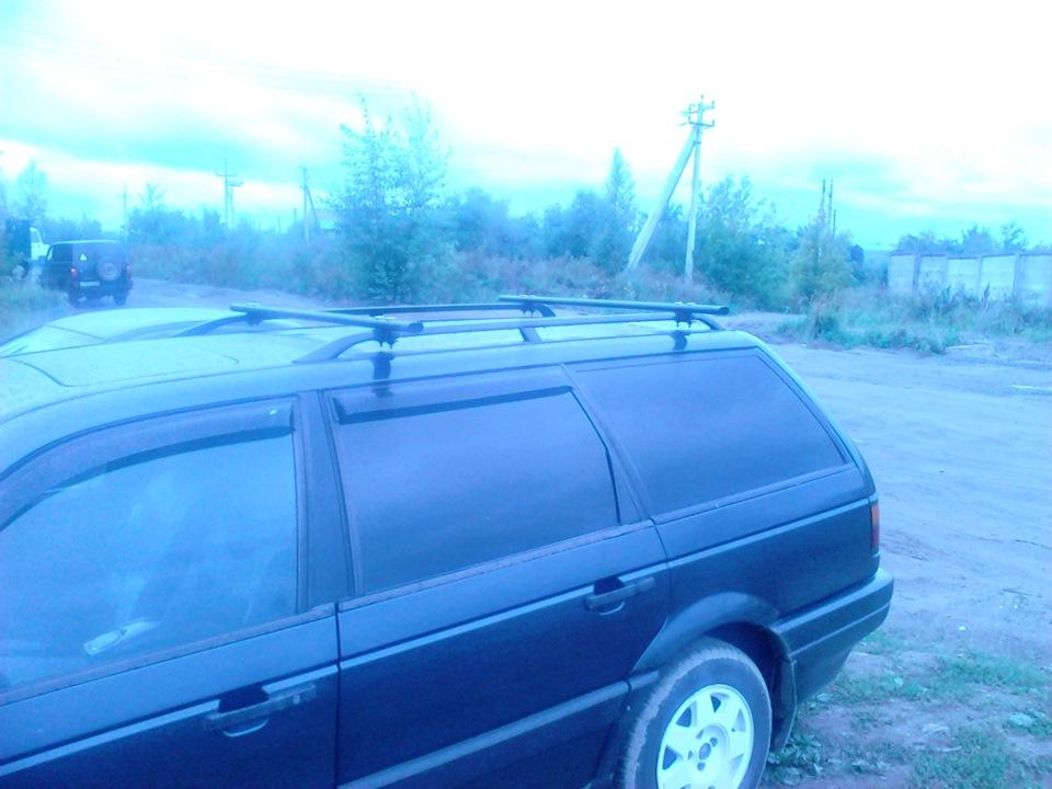 Багажник на крышу пассат б3 универсал своими руками 26