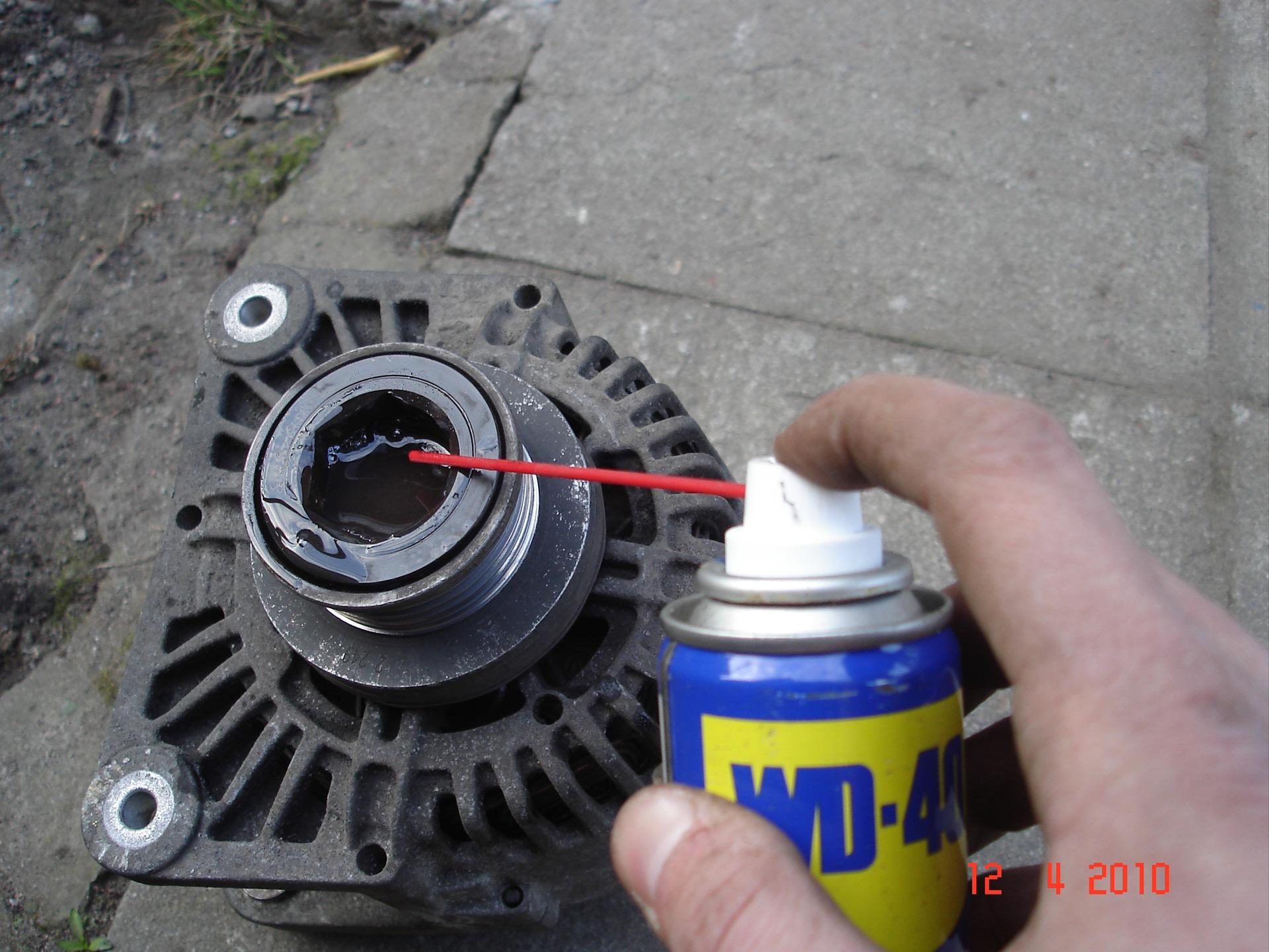 как разобрать генератор на renault symbol